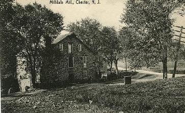 Nathan Cooper in 1825 bought about 4.5 acres of land which included a milldam, sawmill, an old gristmill, and the water wheel for $750. The following year, he replaced the mill with the present stone mill (Cooper Gristmill) and gave the new mill and property to his nephew Nathan A. Cooper.